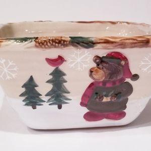 St. Nicholas Square Holiday Bowl Dish